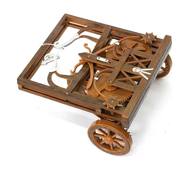 Self Propelled Cart >> Leonardo Da Vinci S Self Propelled Cart Academy Education Model Kit