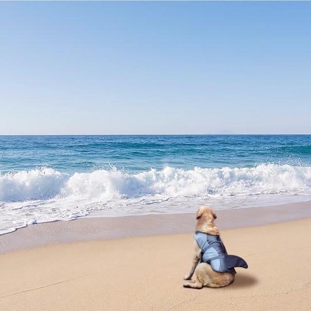 Dog Life Vest Summer Pet Dog Life Jacket Safety Summer Dog Clothes Cute Mermaid Shark Dog Costume S/M/L 2