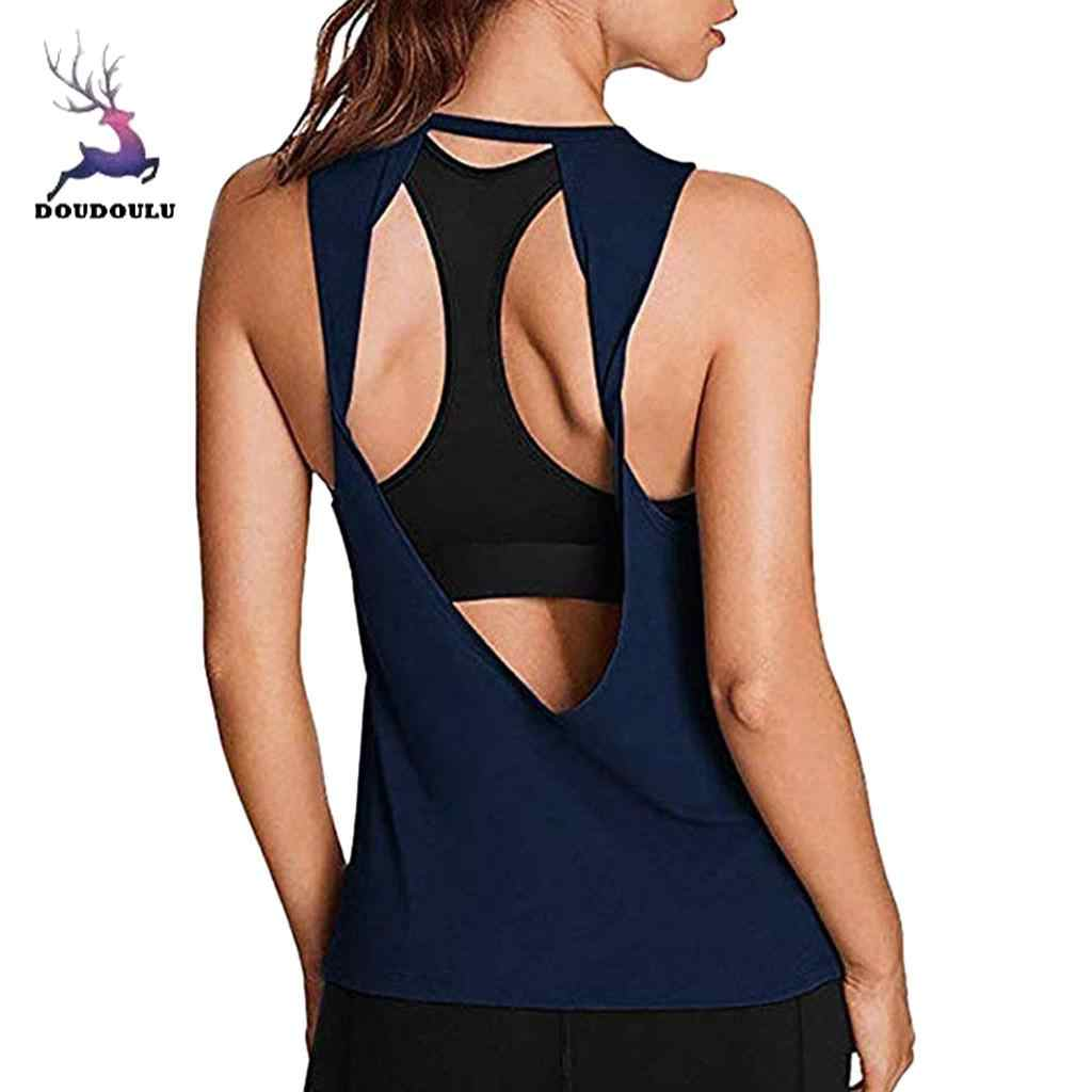 4a3c594bfb0962 Detail Feedback Questions about DOUDOULU Women Activewear Sexy Open ...