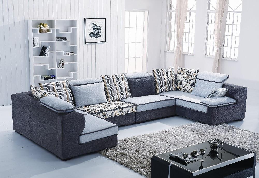 Home Australia U Shape Sectional Fabric Sofa B1011