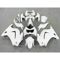 Fit for Kawasaki Ninja 250R Fairings 2008 2009 2013 2014 EX250 08 09 10 11 12 13 14 ZX250R all white injection mold fairing kit
