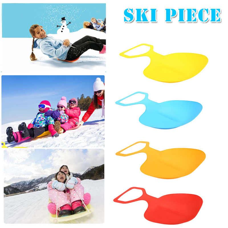 1 шт. утолщенной сноуборд доска для катания по снегу сани для взрослых  спортивные снег Песок 7b575b0a711