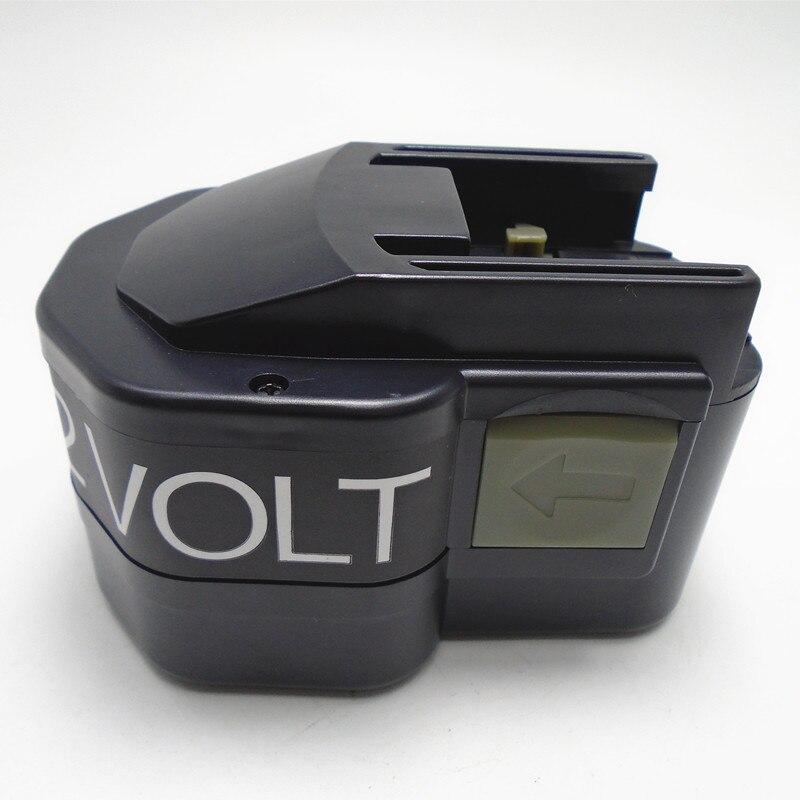 12 v Recarregável Ni-Cd pacote de célula de bateria 2000 mah para AEG furadeira Elétrica sem fio Milwaukee B12 BX12 BXS12 BXL12 MX12 MXS12