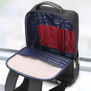 Image 5 - BOPAI 2018 Men Laptop Backpack 15.6 Inch Daily Work Backpack Men Black Leather Schoolbag High School back pack mochila escolar
