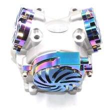 Головка 4 х клапанная тюнинговая (21X23  клапана) для YAMAHA RS100, BWS125, CYGNUS125, YW125, MIO racing высокого качества 180cc 200cc тюнинг мотозапчасти