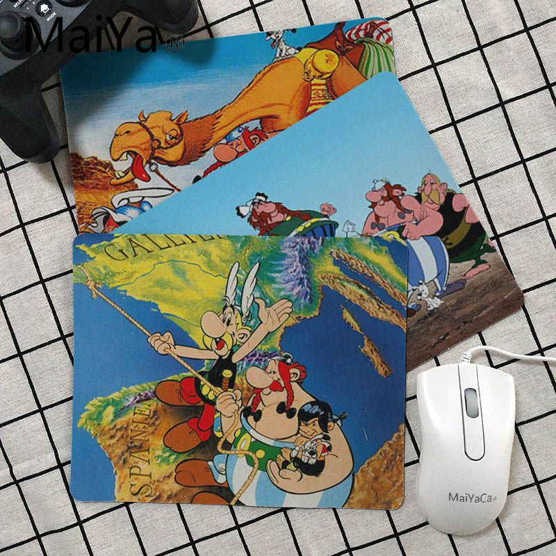 Maiya My Favorite Asterix Obelix Gamer Play Mats Mousepad Top Selling Wholesale Gaming Pad Mouse