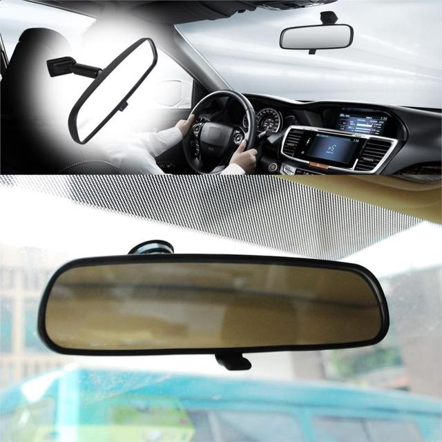 Dwcx 1pc Black Interior Rear View Mirror 76400 Sda A03 76400sdaa02