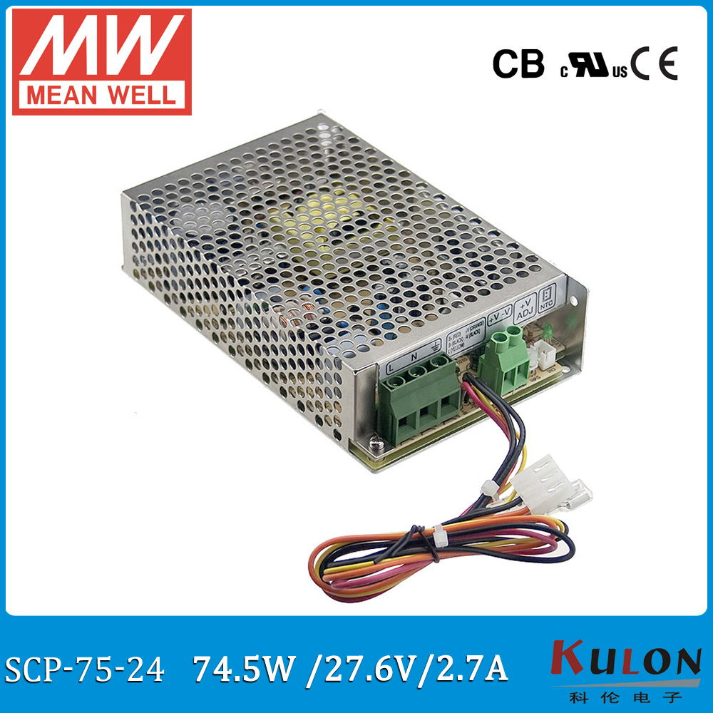 Original Mean Well Scp 75 24 276v 27a 745w Temperature 24v6a Low Power Consumption Regulated Supply Circuit Compensation Security For Battery Backup System In Switching From