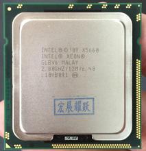Процессор Intel Xeon X5660 ПК сервер Процессор 12 м LGA 1366 Server шесть основных Процессор