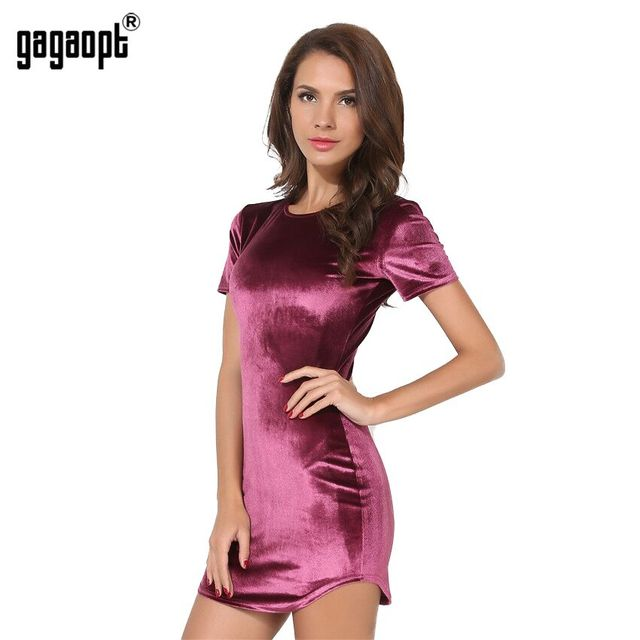 Gagaopt 2017 Spring O-neck Women Mini Dress Summer Short-Sleeve Sexy Vintage Fashion Elegant Dresses Robe Vestidos Lady Clothing
