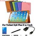 Для Teclast PU защитный Кожаный Чехол Защитной Оболочки/Кожи Для Teclast X98 Plus II Tablet PC покоя случае 9.7 дюймов