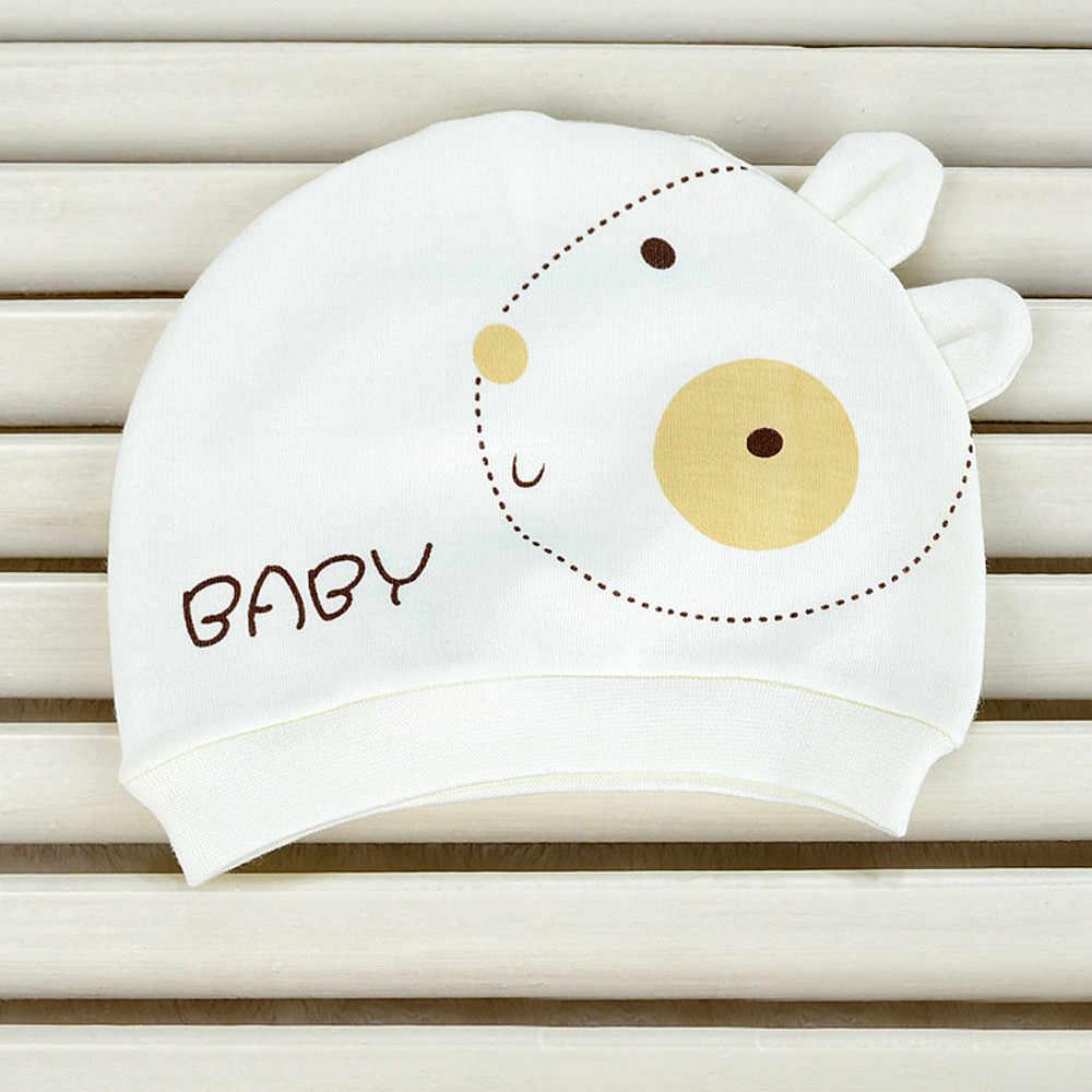 ใหม่ฤดูใบไม้ร่วงฤดูหนาวหมวกเด็กอบอุ่นหมวกผ้าฝ้ายเด็กทารก Sleep Cap Outono E Inverno Bebe Dormir หมวกร้อน