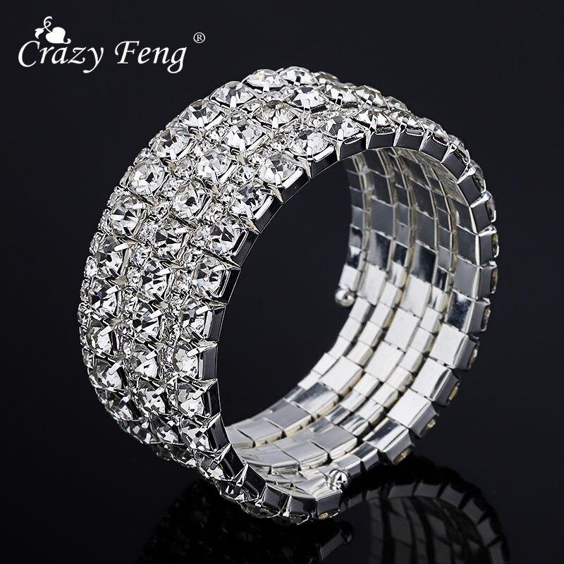 Big Round Blue Stone Bracelet Wristlet Wristband Band Charms Fashion Men Women