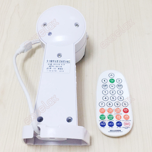 Image 2 - Remote Control Motorized Auto Pan Tilt Scanner Security CCTV Camera Bracket RS485 PTZ Horizontal Vertical Rotation Waterproof