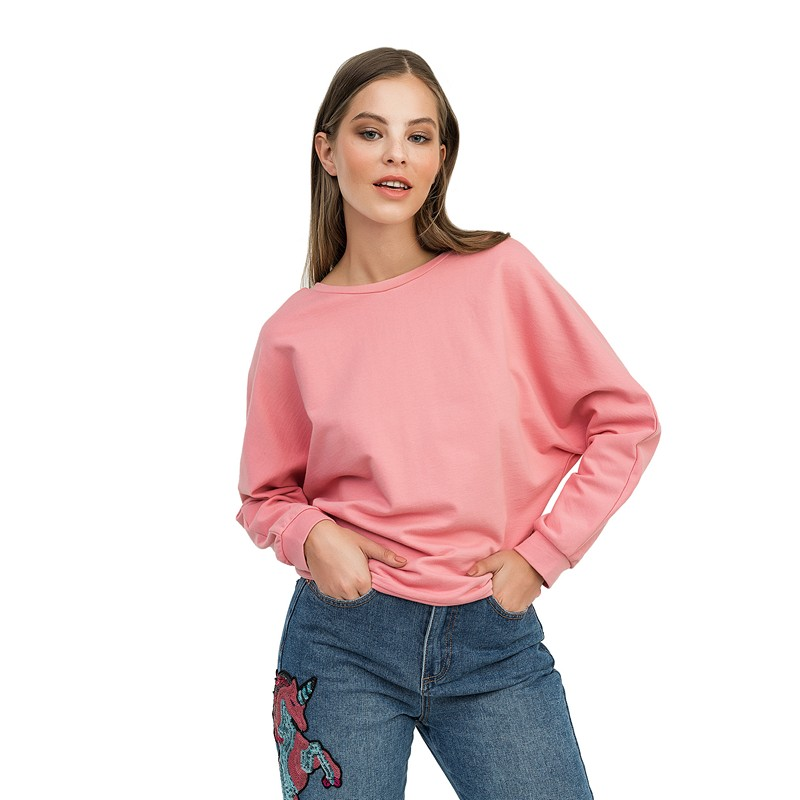 Sweaters befree 1831098418-90 jumper sweater pullover women clothes for female apparel TMallFS chic faux turquoise oval tassel sweater chain for women