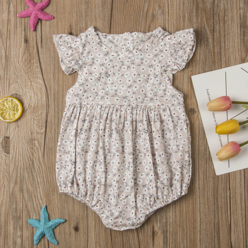 HTB1fBpFavfsK1RjSszgq6yXzpXaX Pudcoco Flower Newborn Baby Girl Rompers Summer Baby Girls Clothing Ruffles Rompers Jumpsuit Playsuit