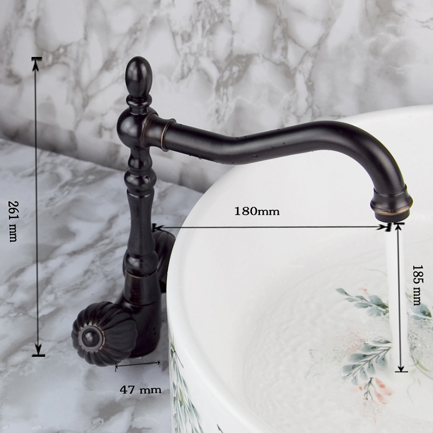 Antique Special Bronze Basin Faucet Single Handle Single Hole Hot Cold Water Mixer Excellent Basin Faucet high speed round bottle beer bottle labeling machine with label marking machine date code printer