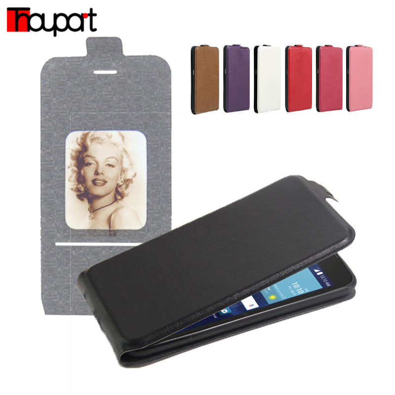 Thouport OfficialFlagship Store For LG K 7 K332 Retro Flip PU Leather TPU Cover Magnetic Bags Cases For LG K7 X210 X210DS MS330 / LG Tribute 5 LS675 LG M1 Case