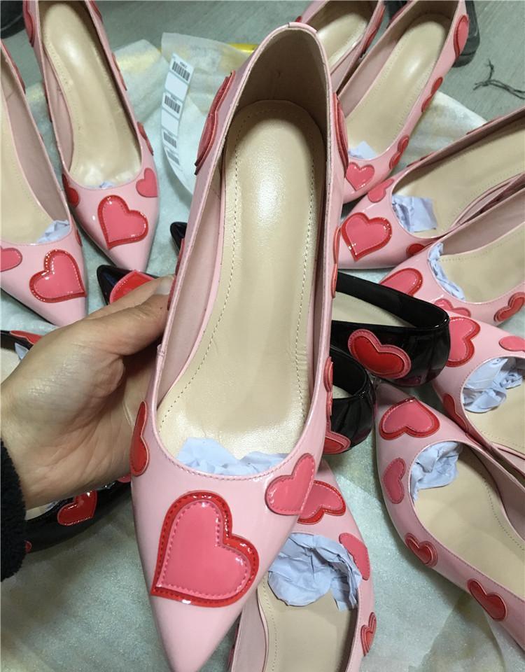 Mode Conception as Chaussures Mariage Talons De Orteils 2018 Printemps Pic Couleur Pompes As Haute D'été Pic Pointu Love Mix Minces Femme Chaude qwfZR6