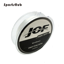 SPORTSHUB 100 Meters Soft Super Nylon Fishing Line 15-Sized Transparent Wearresistant Monofilament NR0109