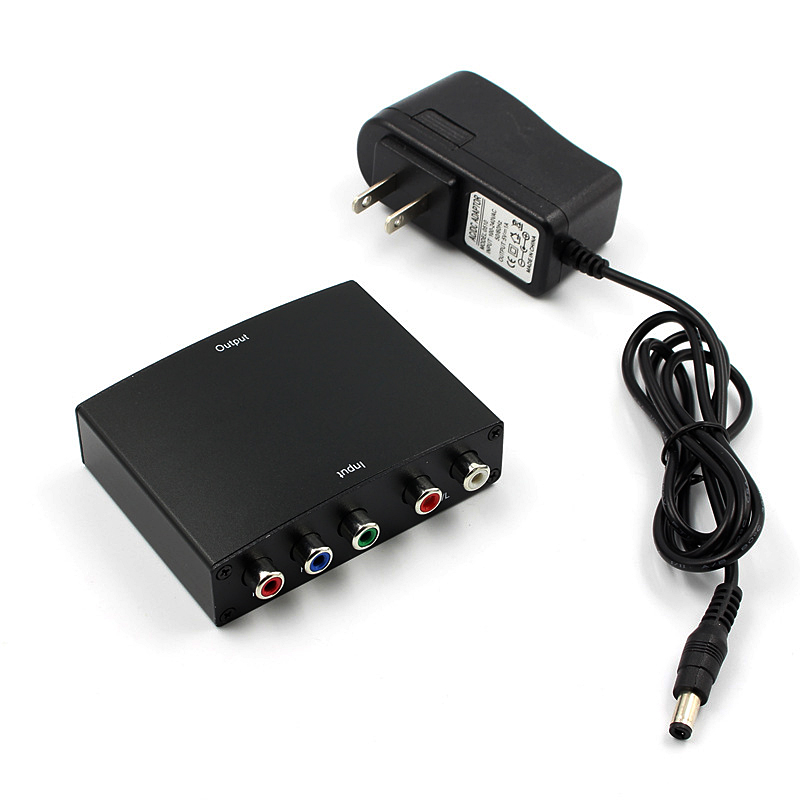 RGB Component (YPbPr) video + R/L Audio Adapter Converter HD <font><b>TV</b></font> zu 1080P HD Klar <font><b>HDMI</b></font> image
