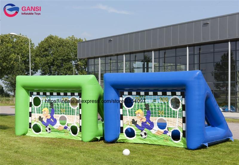 Juegos inflables del retroceso del fútbol de la puerta de tiroteo al - Deportes y aire libre - foto 1