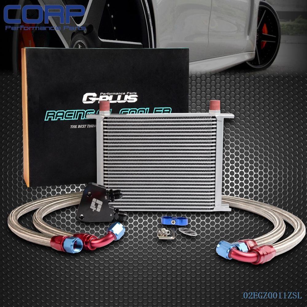 Ls2 Engine Plate: 28 Row Engine Oil Cooler Kit + Sandwich Plate For BILLET
