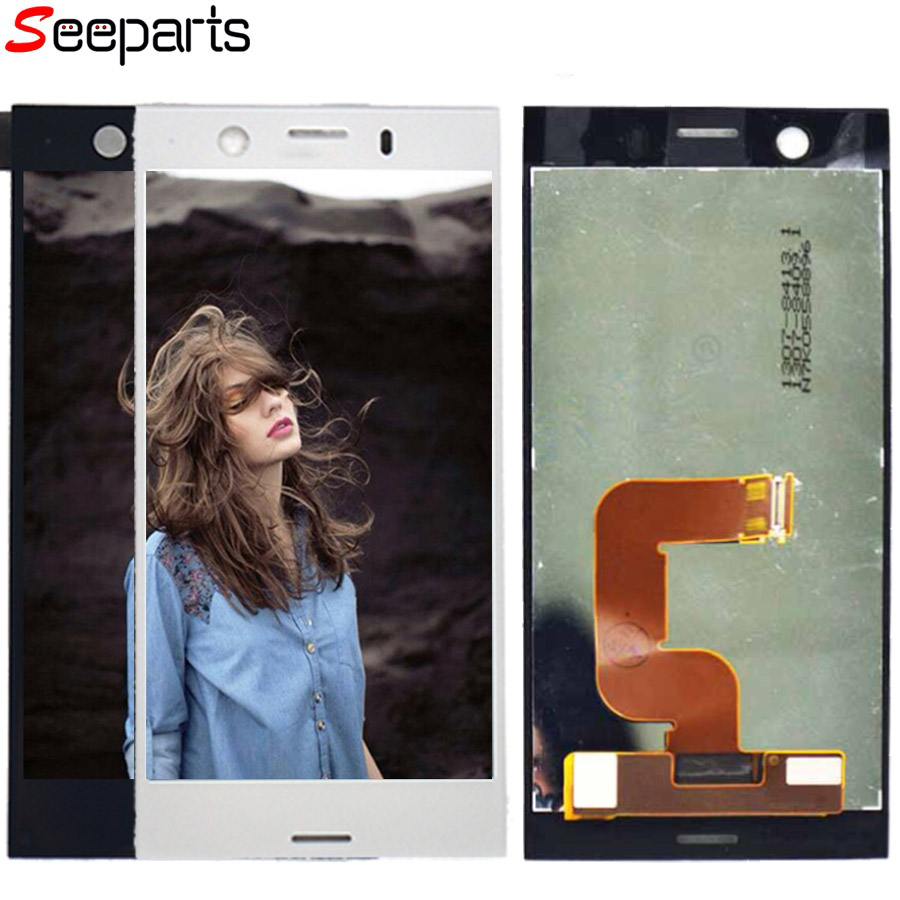 """Original 4.6"""" 1280x720 LCD For Sony Xperia XZ1 Compact LCD Display XZ1 Mini LCD With Touch Screen Digitizer Replacement Parts"""