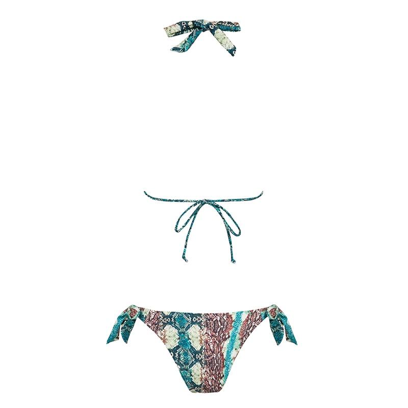 HTB1fBqHaLc3T1VjSZPfq6AWHXXa7 Bikinx Snake print bikinis 2019 mujer bathing suit Triangle sexy female swimsuit Push up swimwear women bathers Micro bikini new
