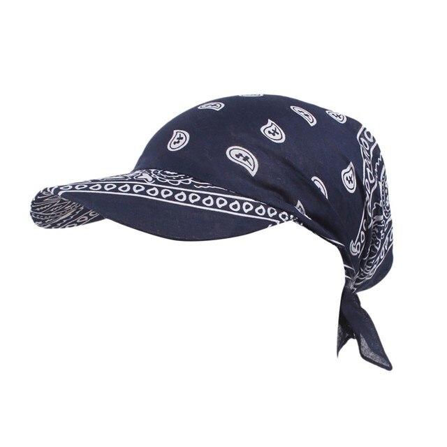 Sleeper #501 2019 NEW FASHION Women India Muslim Retro Floral Cotton Towel Cap Brim Turban Baseball Hat Wrap hot Free Shipping 2