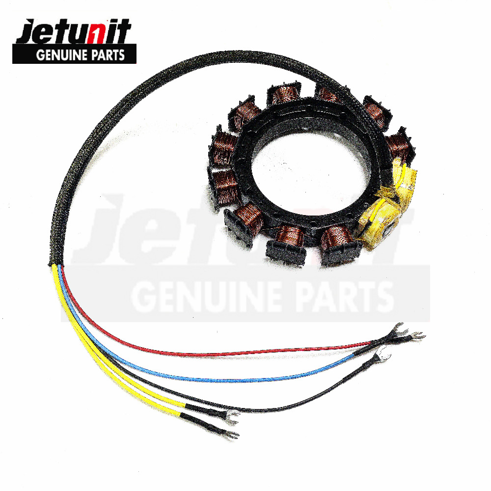 US $199 0 |JETUNIT Outboard Stator For Mercury 40HP 10AMP 2 Cylinder 398  5255 398 5256 398 4770 174 5255-in Personal Watercraft Parts & Accessories