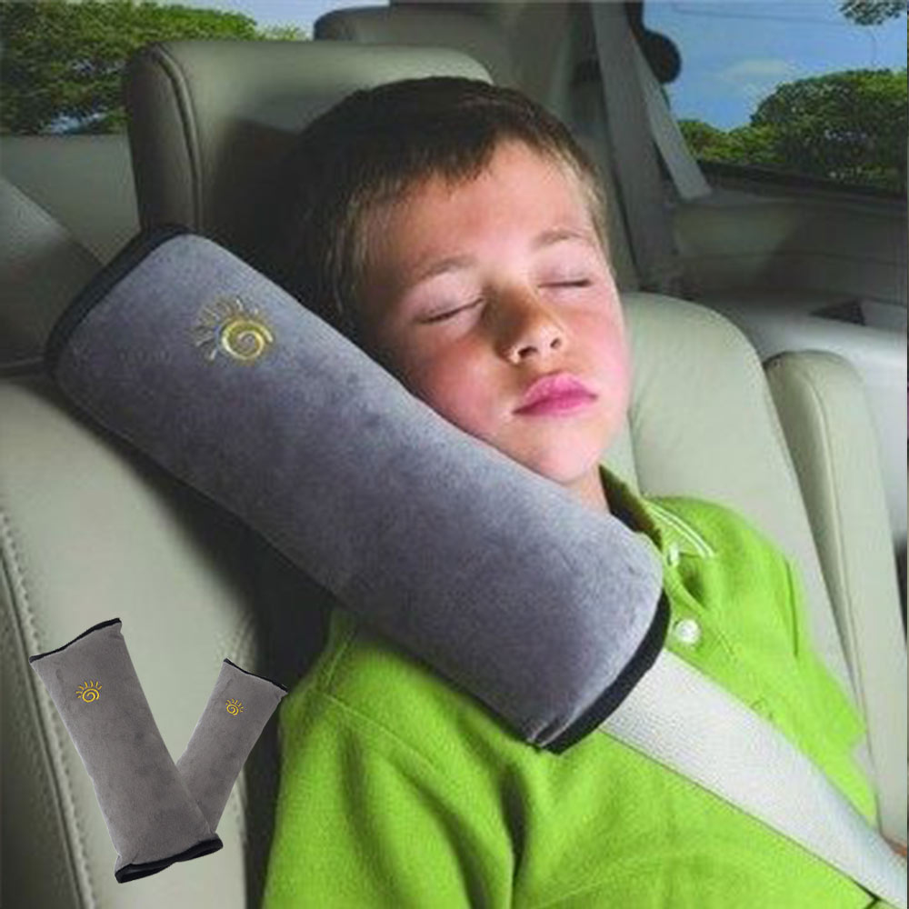 Baby Pillow Car Auto Safety Seat Belt Harness Shoulder Pad Cover Children Neck Protection Pillow Covers Cushion Support Pillows