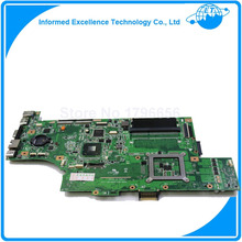 Dla asus g53sx motherboard 60-n7cmb2000-b05 mainboard 2 sloty pamięci lub 4 pamięci slotss pełni przetestowane wszystkie funkcje działają dobry