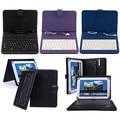 Мода Искусственной Кожи Чехол с Мини Micro USB Клавиатура для 7/8/10 Дюйм(ов) Tablet