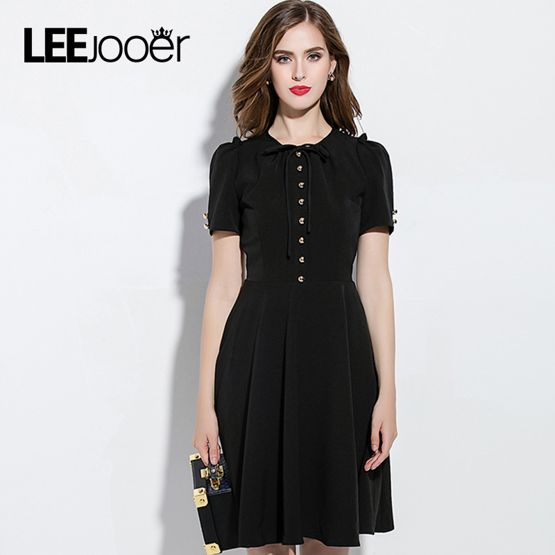 Leejooer New Collection 2017 Spring Dress Women Fashion