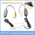 Módulo Receptor Transmisor de Video Inalámbrico de 2.4 Ghz Para la Conexión de Respaldo Del Revés Del Coche Cámara de Visión Trasera y Monitor
