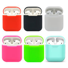 i11 tws air pods ear pods cover i12 tws silicon case i7s i8 funda i10 tws case for Apple airpods i9s-tws earpods silicon coque(China)