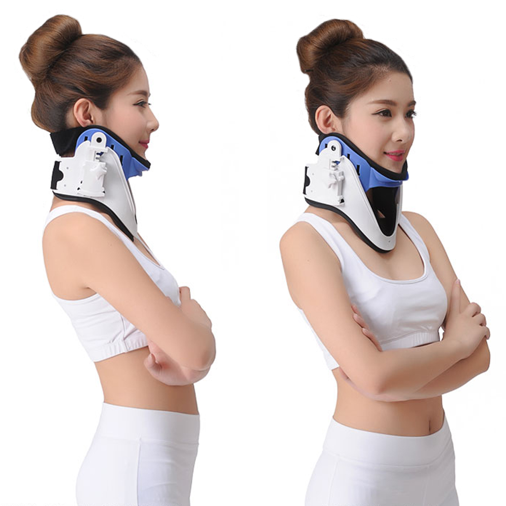 Medical Cervical Vertebra Tractor Traction Neck Support Brace Treatment For Neck Pain Spondylosis Free ShippingMedical Cervical Vertebra Tractor Traction Neck Support Brace Treatment For Neck Pain Spondylosis Free Shipping