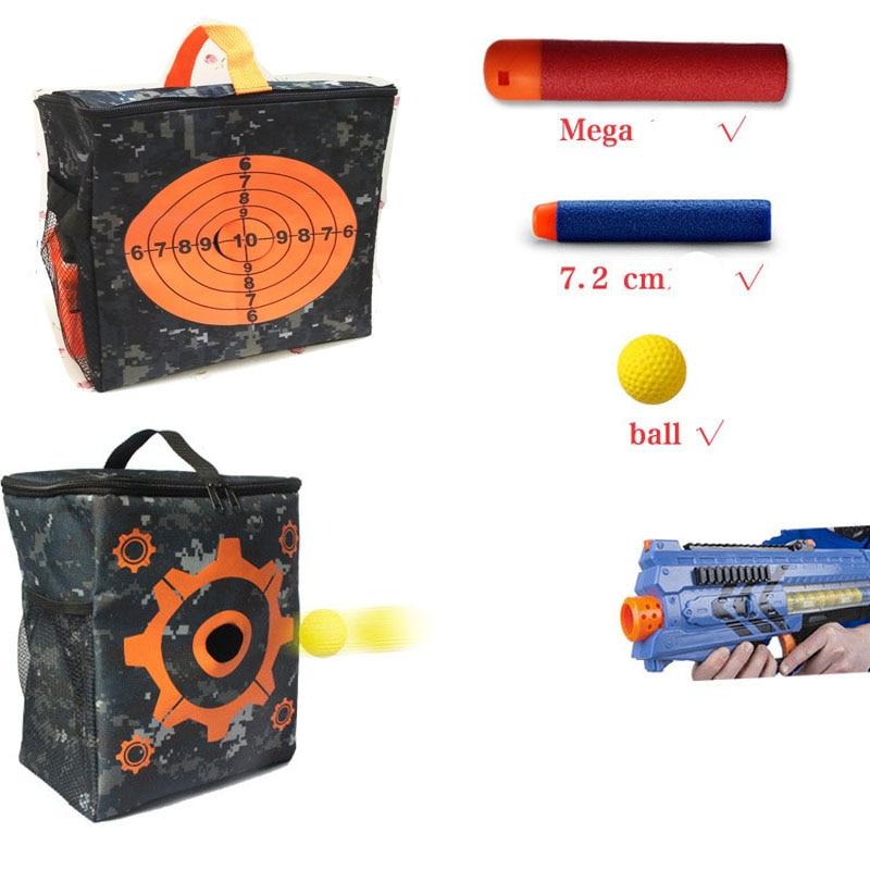 玩具銃ポーチキャリーバッグ収納ターゲット機器バーストライクエリート/メガ/ライバルダーツゲームエクステリア収納コンパクトバッグ
