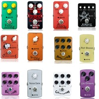 JOYO Guitar Effects Vintage Overdrive/Ultimate Drive/Crunch Distortion/Digital Delay/American Sound Electric Guitar Effect Pedal