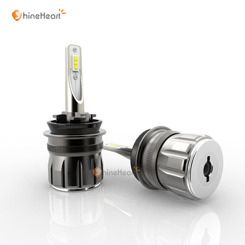 NEW Noiseless And Highly Bright 12V 80W 9600LM 6000k S7 Auto Led Headlight Bulbs H1 H7 H4 H8 H9 H11 9012 9005 9006 with ETI chip