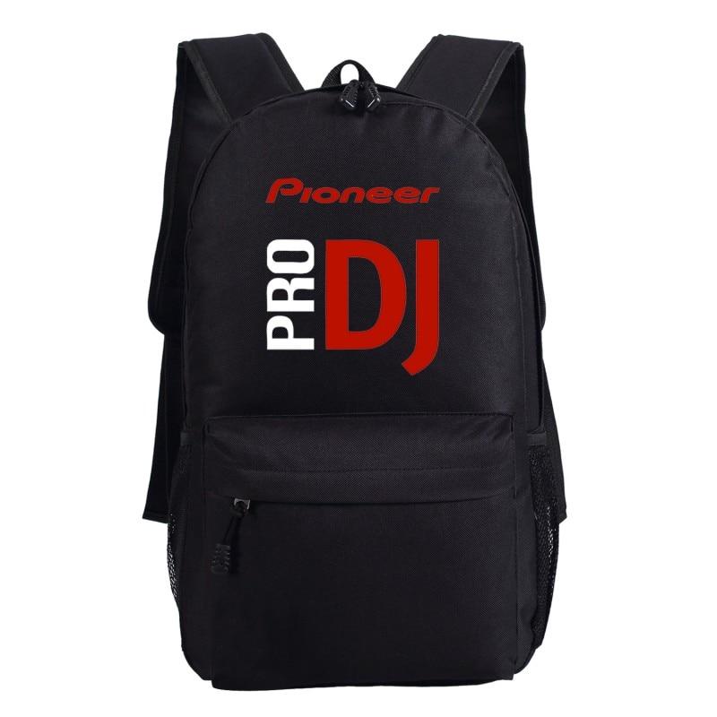 Pioneer Dj Pro Backpack Bag Shoulder School Students Travel Bag Package Cosplay 45x32x13cm