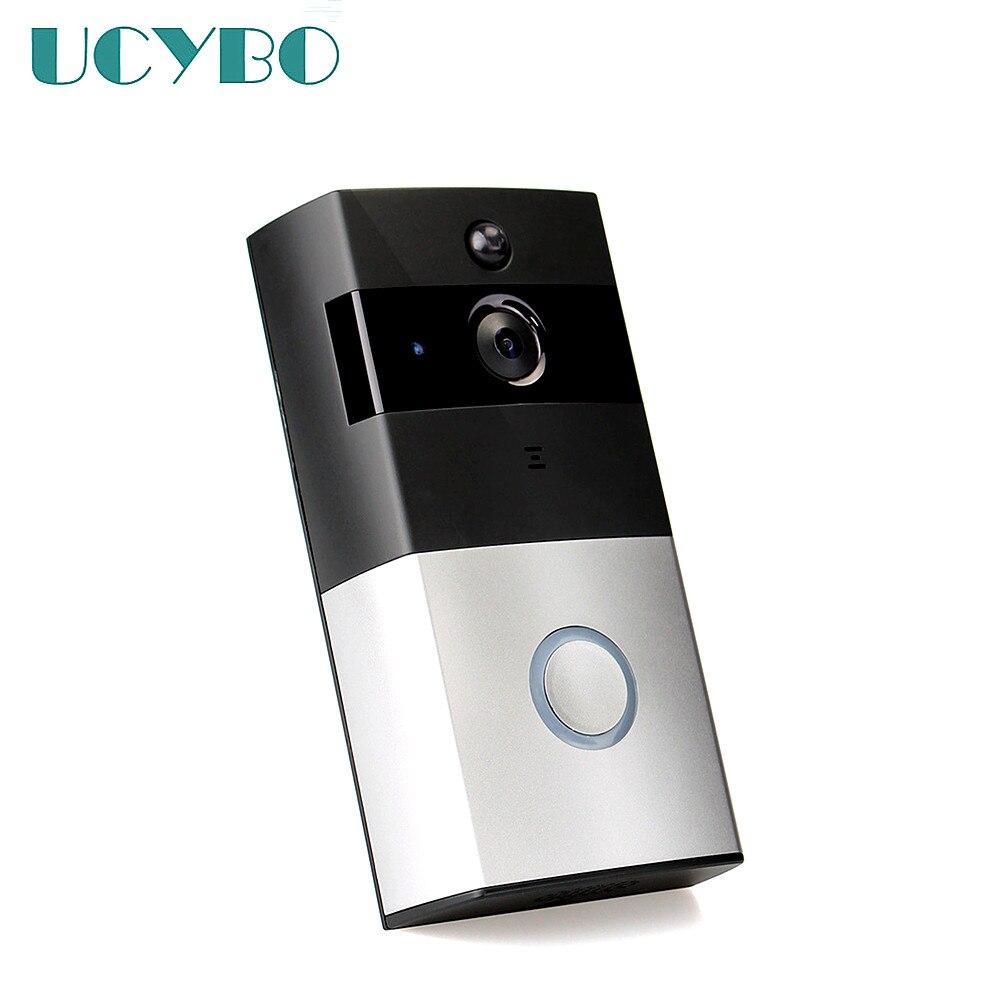 Wireless Video intercom system WIFI Video door phone doorbell IP Camera 720P HD door bell doorphone audio SD Card support iphone цена