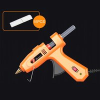 Hot Melt Glue Gun for DIY Handwork Toy Repair Tools Electric Heat Temperature Glue Guns Heat Guns with Glue sticks