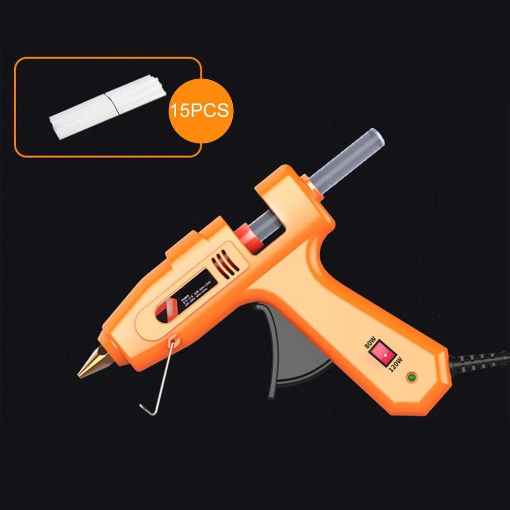 Hot Melt Glue Gun for DIY Handwork Toy Repair Tools Electric Heat Temperature Glue Guns Heat Guns with Glue sticks