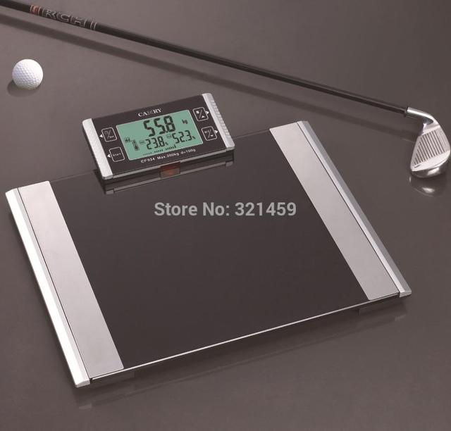Digital Scale 200kg Electronic Floor Body Fat Weight With Infrared Transmission Real Time Clock And