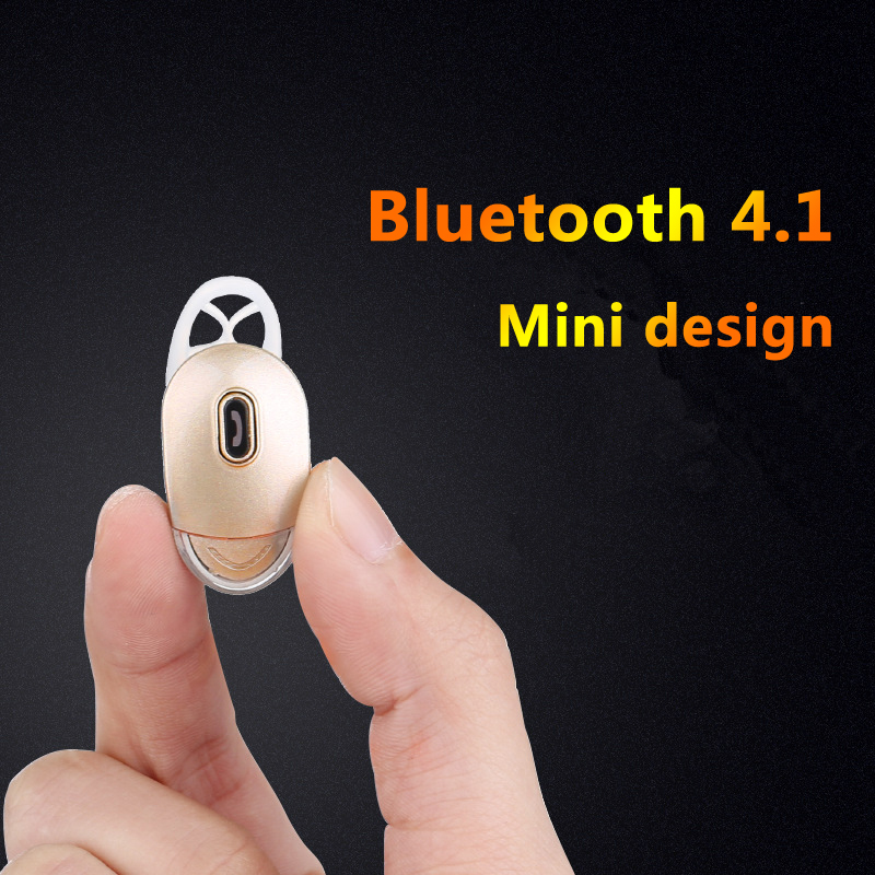 Mini Bluetooth Headset Bluetooth Garnish Bluetooth Handsfree Noise Except the Sound Clear V4.0 Bluetooth Headset to the Phone