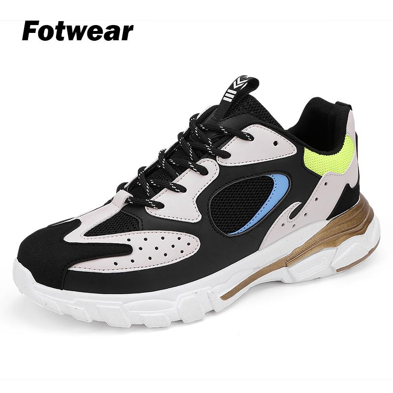 Fotwear Men Sneakers Men casual shoes Sport Running style Good walking Experience tnis masculino summer shoes high top sneakers in Men 39 s Casual Shoes from Shoes