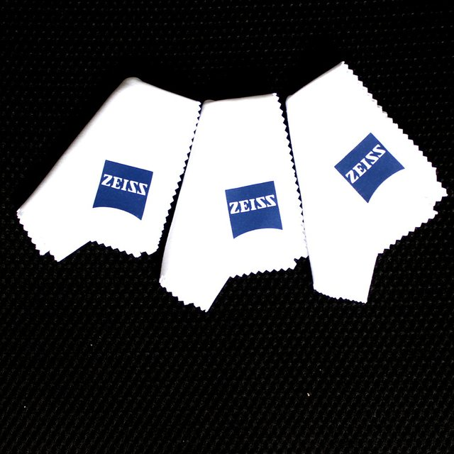 Zeiss Professional Microfiber Cloth for Lens Cleaning Cloth Eyeglass Lens Sunglasses Camera Lens Cell Phone Laptop Pack of 3 1