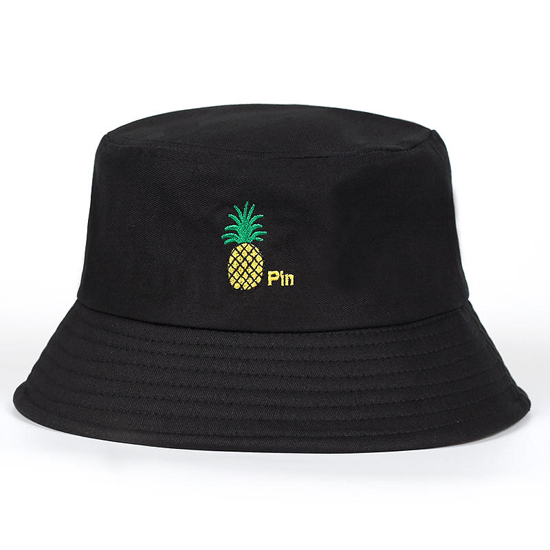 453bc419 new Bucket cap Man Women Unisex cotton Banana Hat Bob Caps Hip Hop outdoor  sports Summer ladies Beach Sun Fishing Bucket Hats